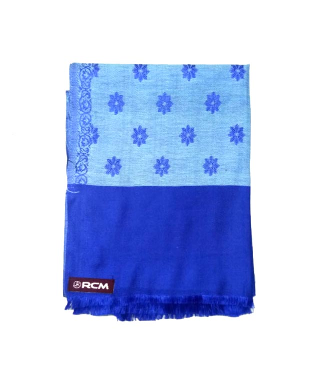 WOMEN SHAWL-BLUE-WSWL 108 D NO 1