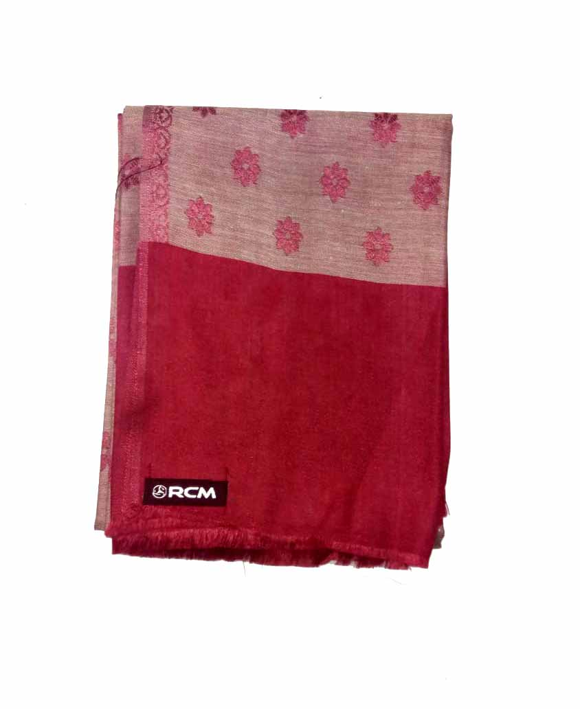 WOMEN SHAWL-MEHROON-WSWL 108 D NO 1