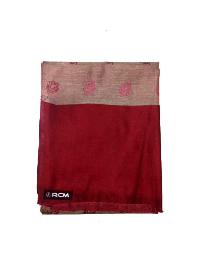 WOMEN SHAWL-MEHROON-WSWL 108 D NO 4