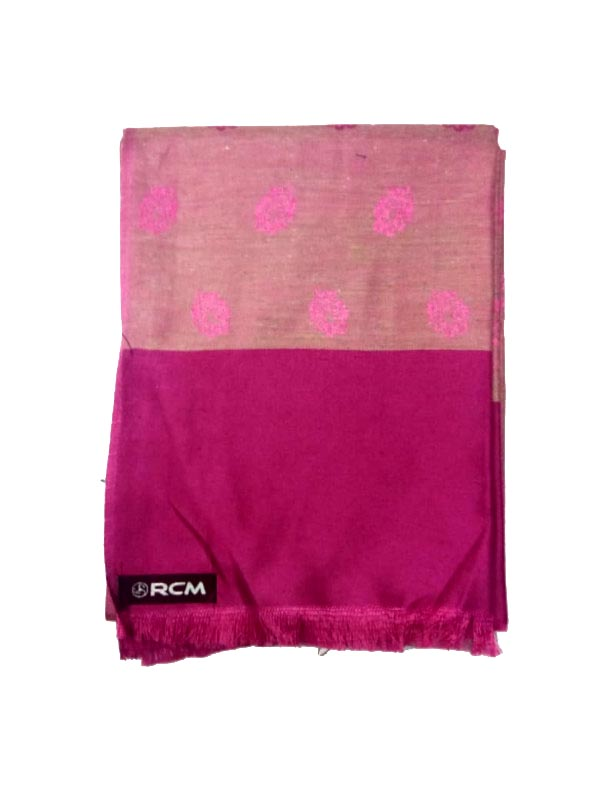WOMEN SHAWL-PINK-WSWL 108 D NO 5