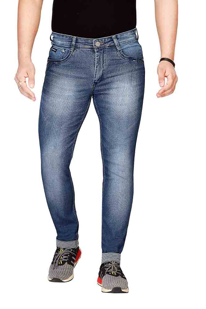 UTD STYLE 1215-M V SPRAY KNITTED DENIM