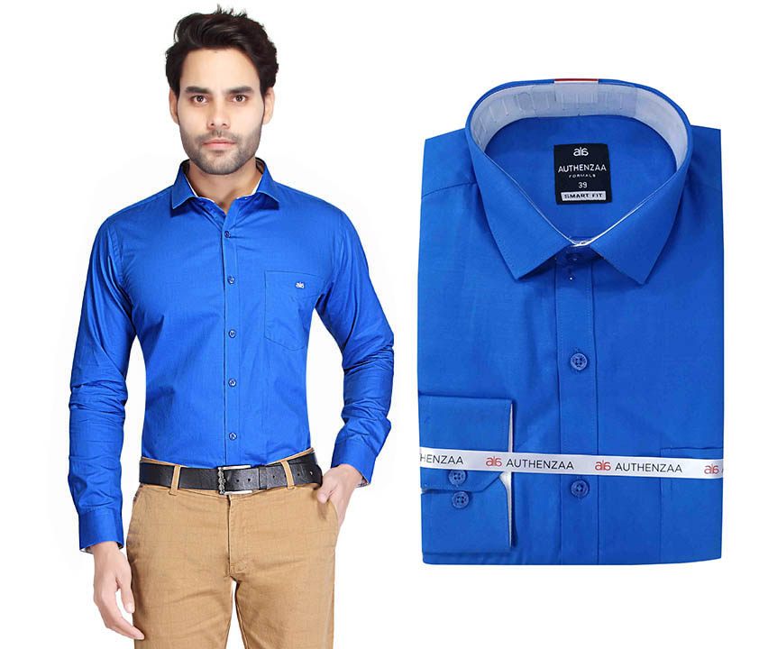 BT RAPIER 03-ROYAL BLUE FORMAL SHIRT