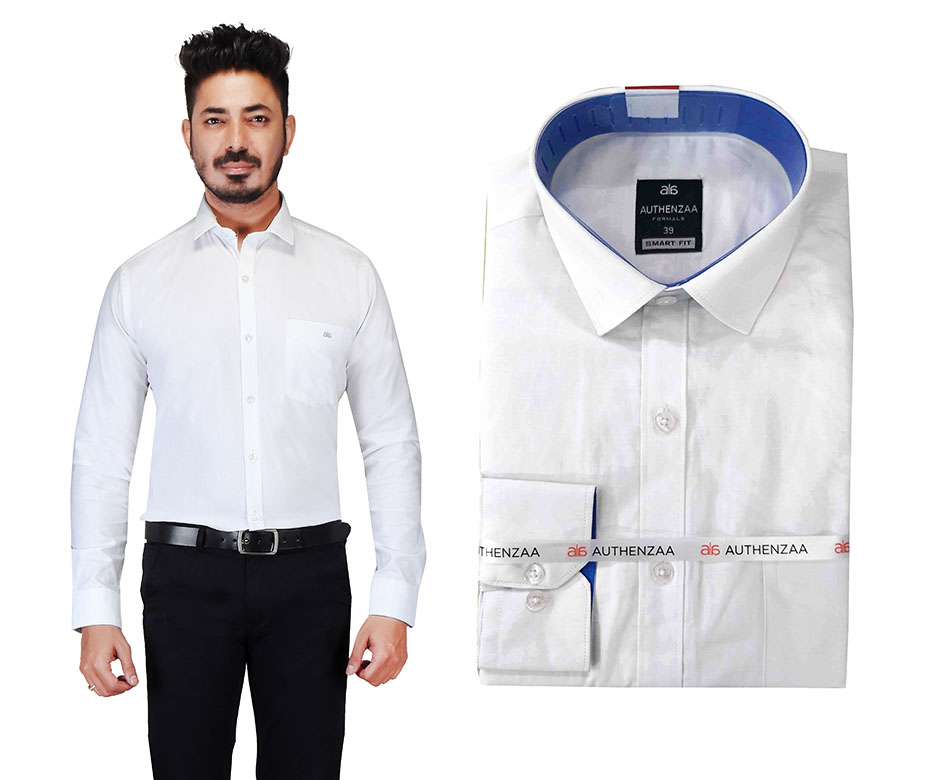 BT RAPIER 03-WHITE FORMAL SHIRT
