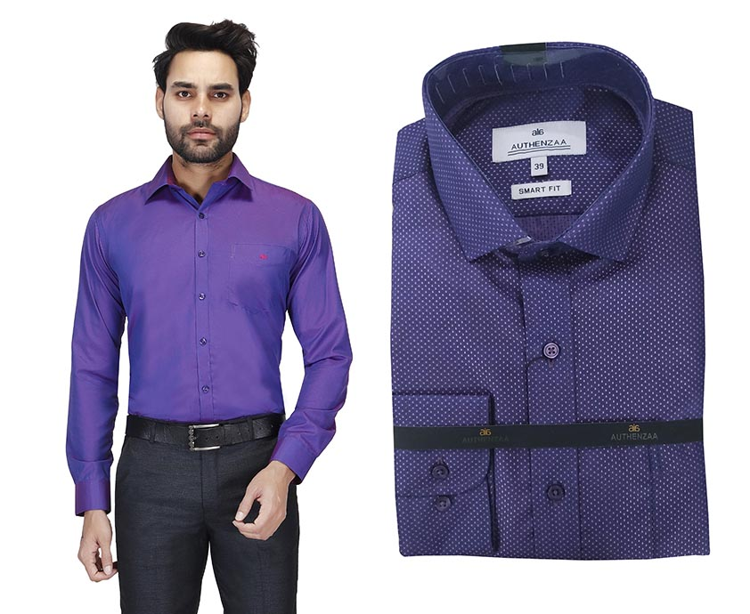 TA 120377 02-PURPLE FORMAL SHIRT