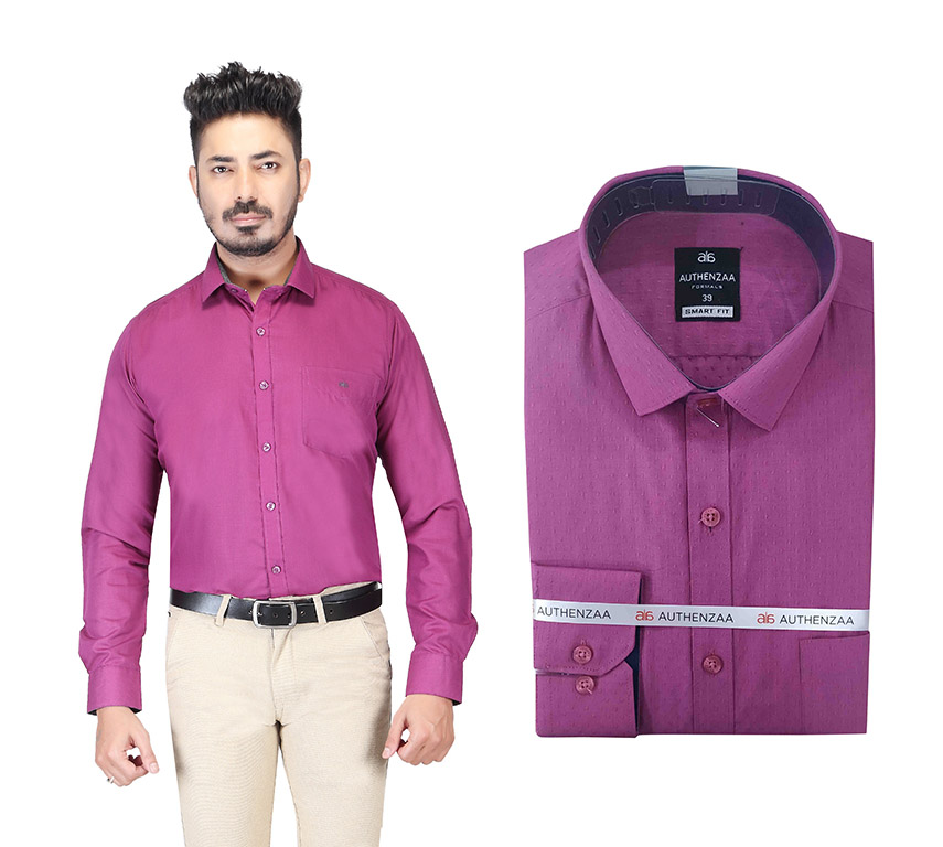 BT HARDIK 02-PINK FORMAL SHIRT