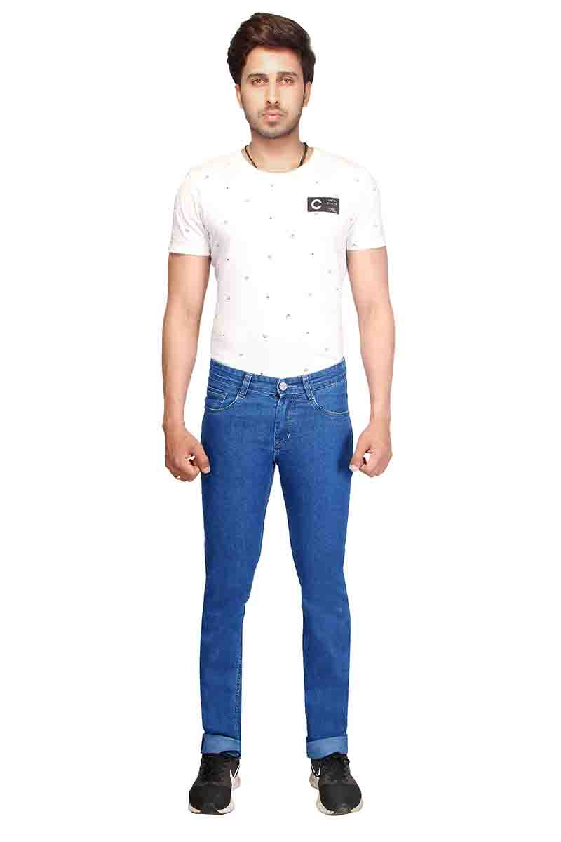 UTD 5083-2-MV SPRAY KNITTED DENIM