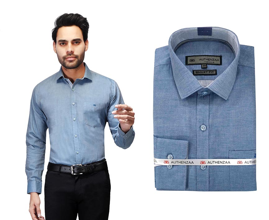 BT RAPIER 06-SKY BLUE FORMAL SHIRT