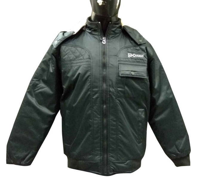 MJK MI8 13-Black WINTER JACKET M SIZE ONLY