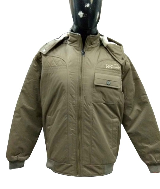 MJK MI8 15-LIGHT COFFEE WINTER JACKET M SIZE ONLY