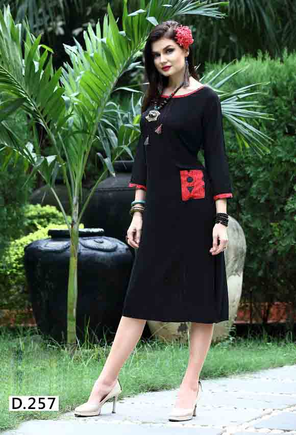 SMC STREE 01-D NO 7 WOMEN KURTI