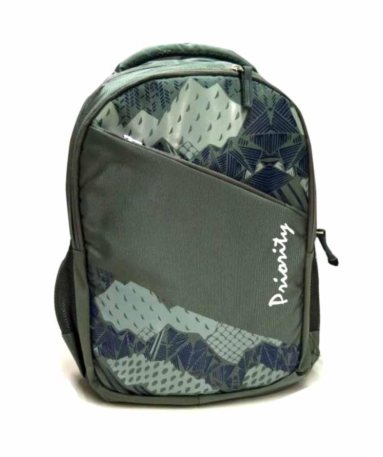 HS HIPPIE 01 -GREEN/BLUE Backpack Bag