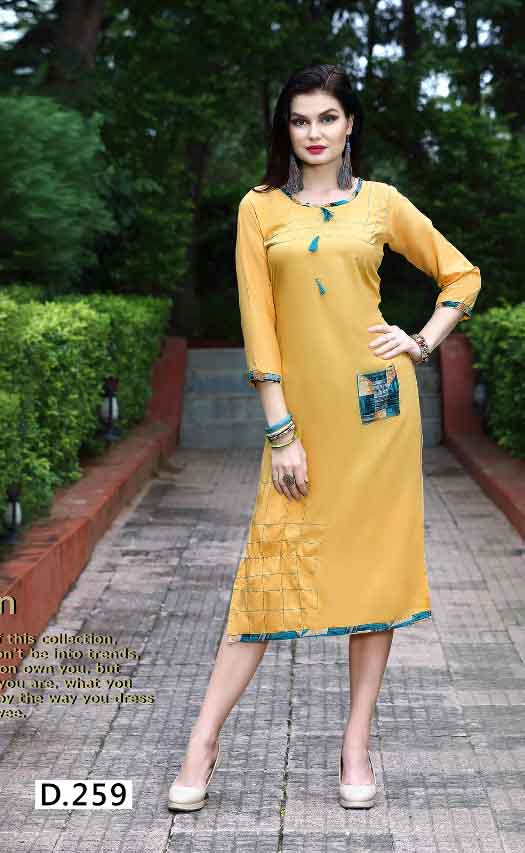 SMC STREE 01-D NO 9 WOMEN KURTI