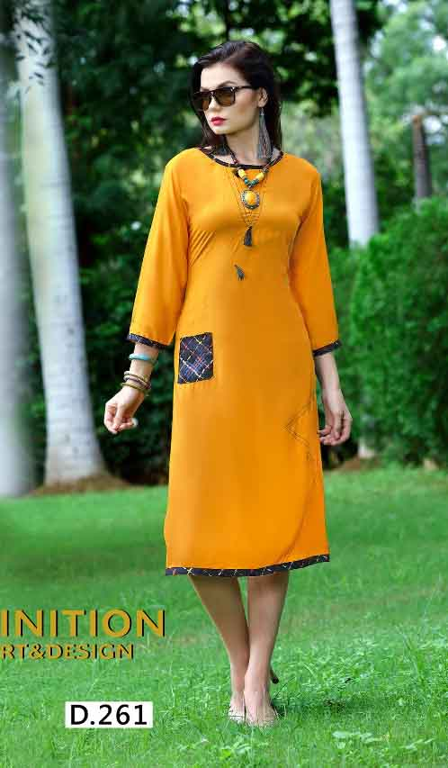 SMC STREE 01-D NO 11 WOMEN KURTI