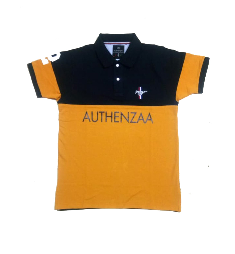 AI CS 126-NAVY POLO T SHIRT