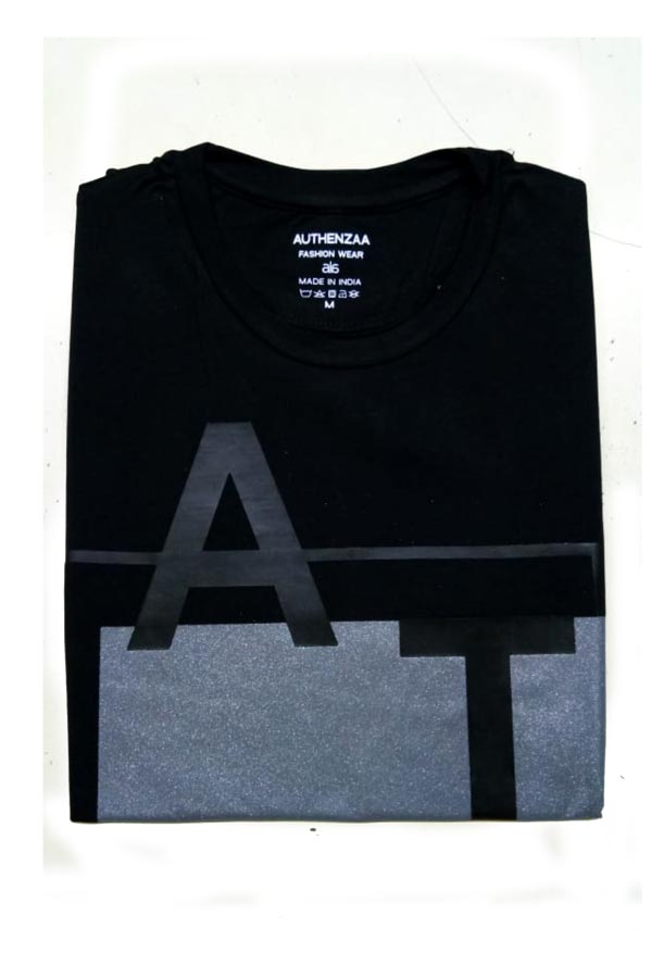AI L 101-DARK GREY ROUND NECK T SHIRT