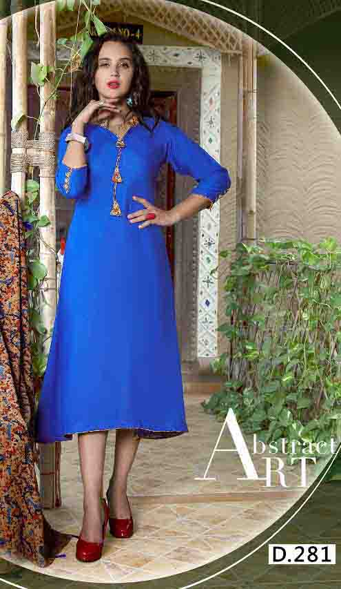 SMC RAJWADI 01-D NO 1 STYLISH WOMEN KURTY