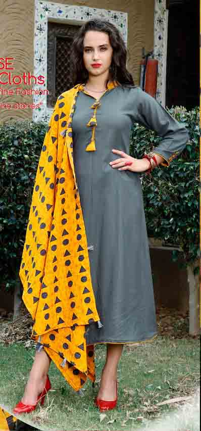 SMC RAJWADI 01-D NO 4 STYLISH WOMEN KURTY