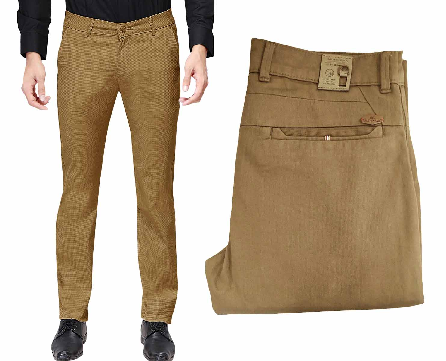 UTD 1008-1-COFFEE CASUAL TROUSER