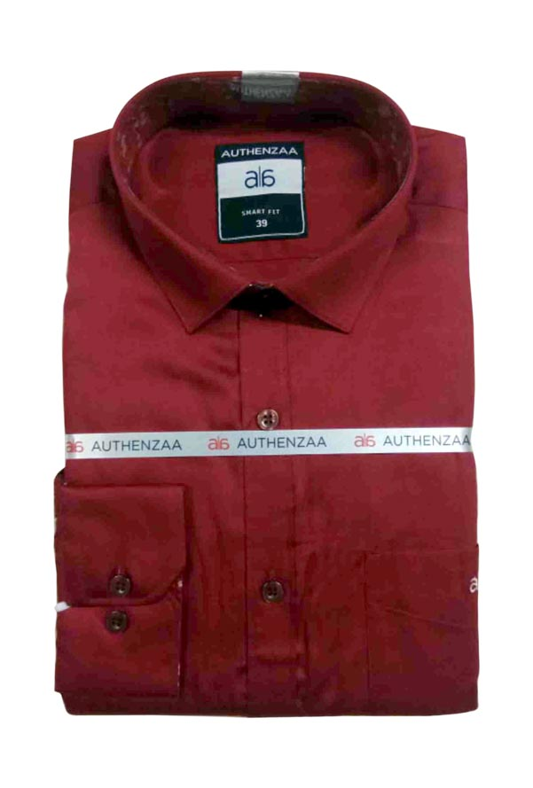 BT SEASON FEB 01-RED FORMAL SHIRT