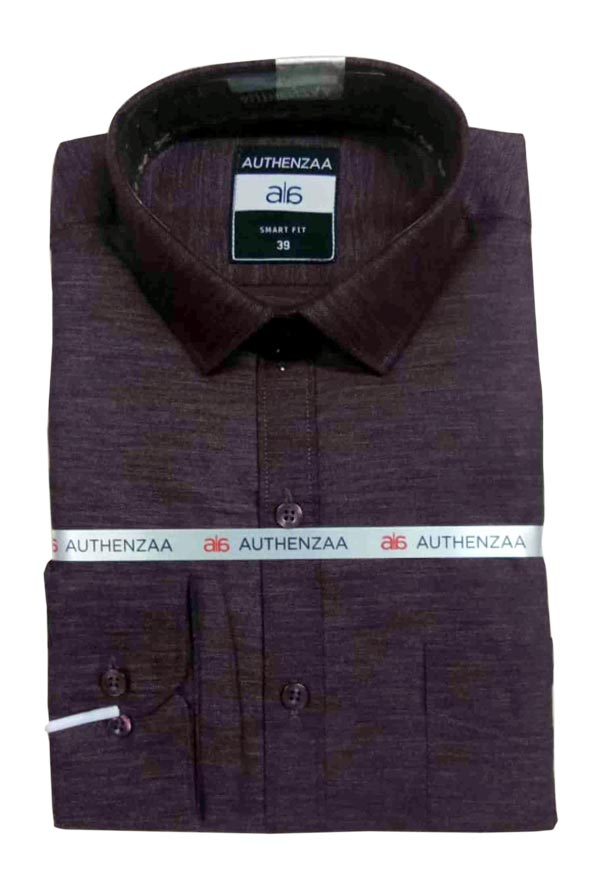 BT MAAN FEB 01-COFFEE FORMAL SHIRT