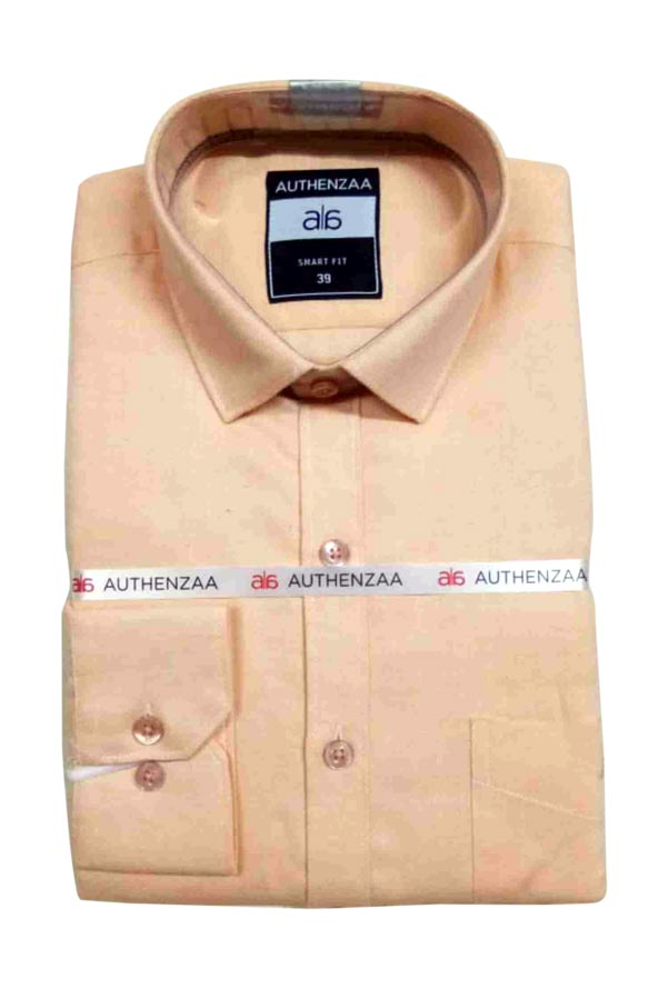 BT MAAN FEB 01-PEACH FORMAL SHIRT
