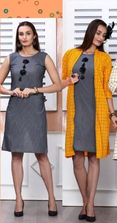 SMC JAN RANGEELY 2020-D NO 301 WOMEN KURTI