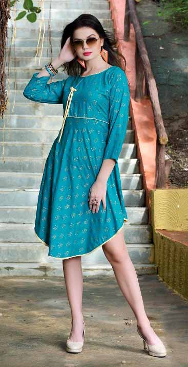 SMC RASIYA 01-D NO 3 STYLISH WOMEN KURTY