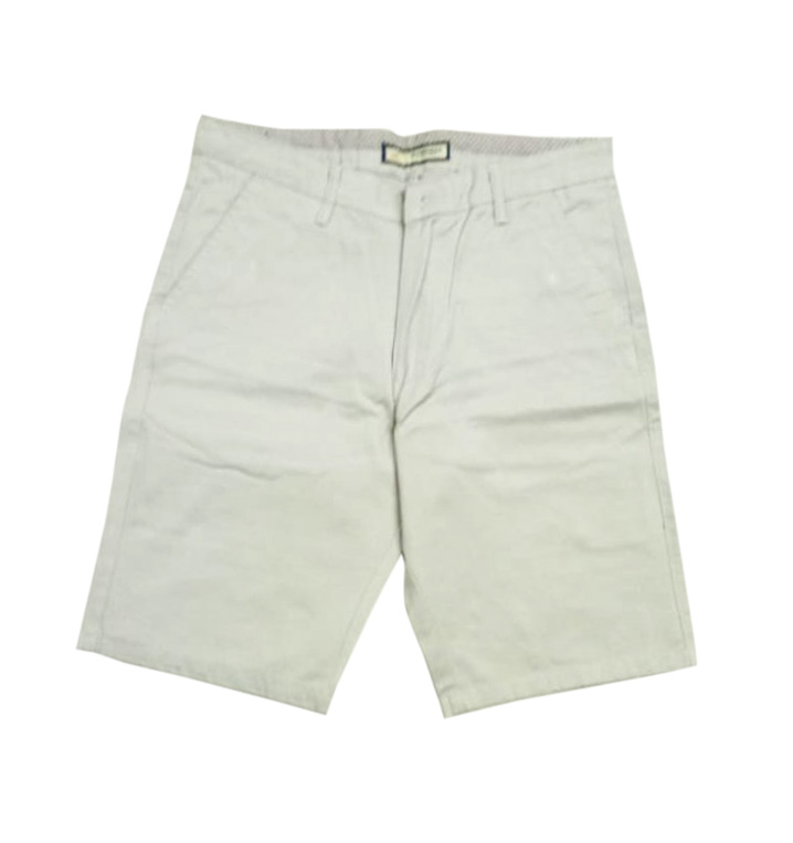 UTD DRILL 3010-CREAM-MN SHORTS