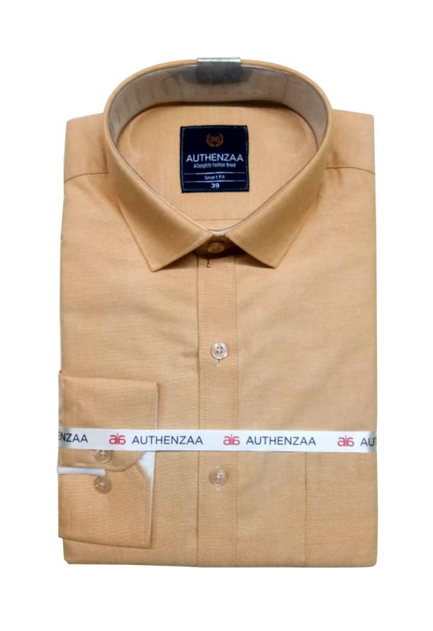 BT APL RAPIER 01-ORANGE FORMAL SHIRT