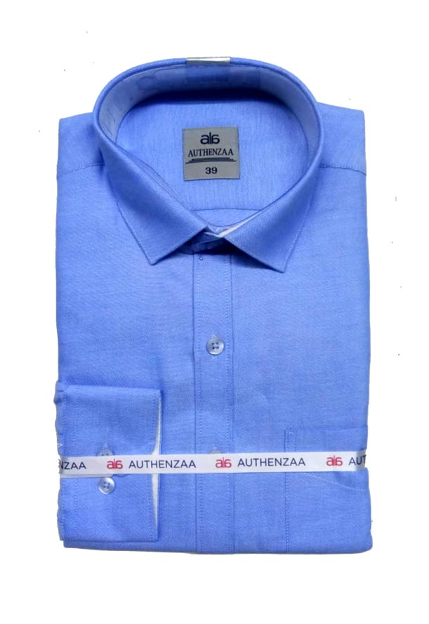 BT APL RAPIER 01-BLUE FORMAL SHIRT