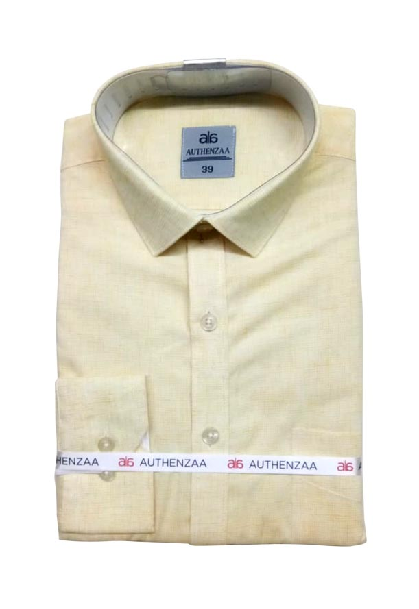 BT APL RAPIER 01-YELLOW FORMAL SHIRT