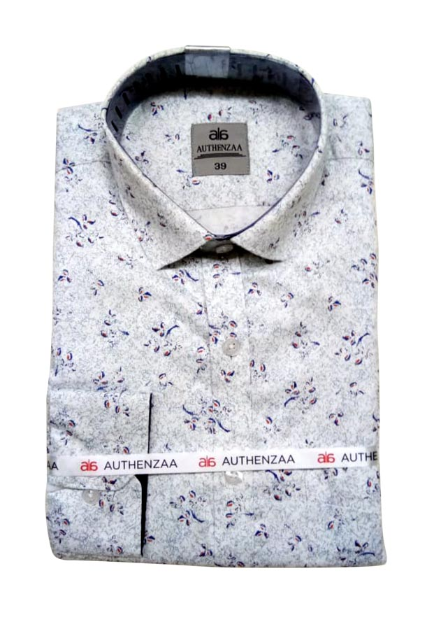 BT APL 2019-WHITE PRINT FORMAL SHIRT