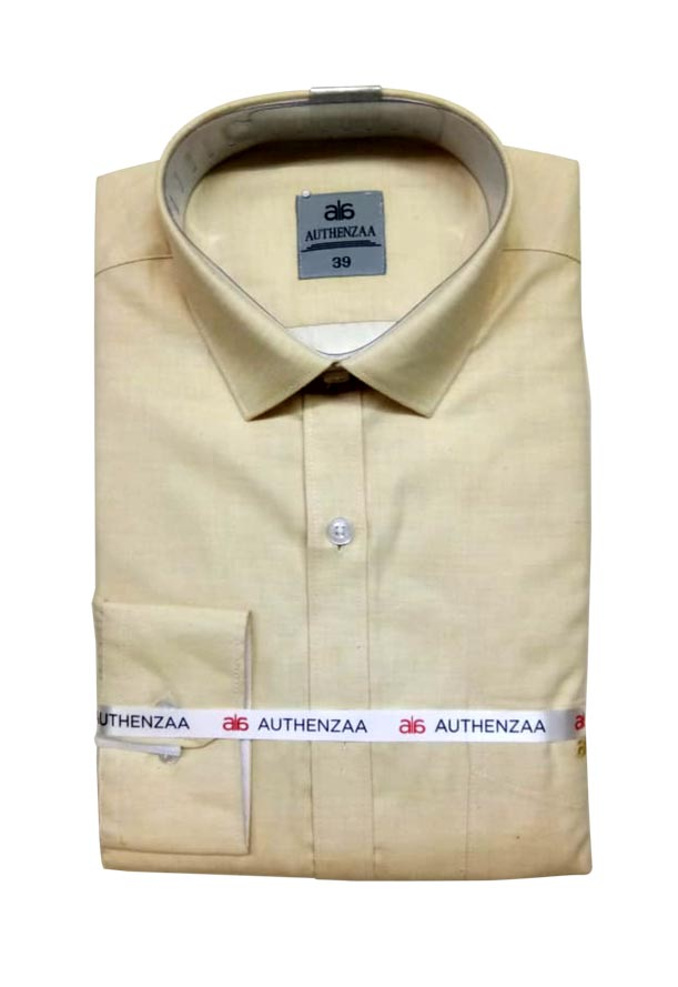 BT APL 2019-LIGHT YELLOW FORMAL SHIRT