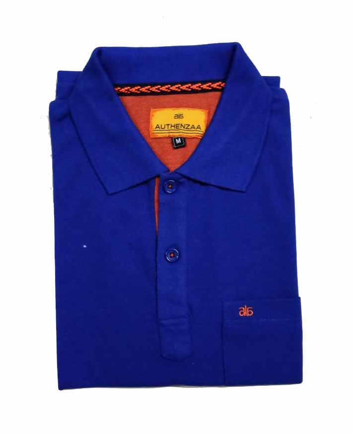RPT APL 395-ROYAL BLUE POLO T SHIRT