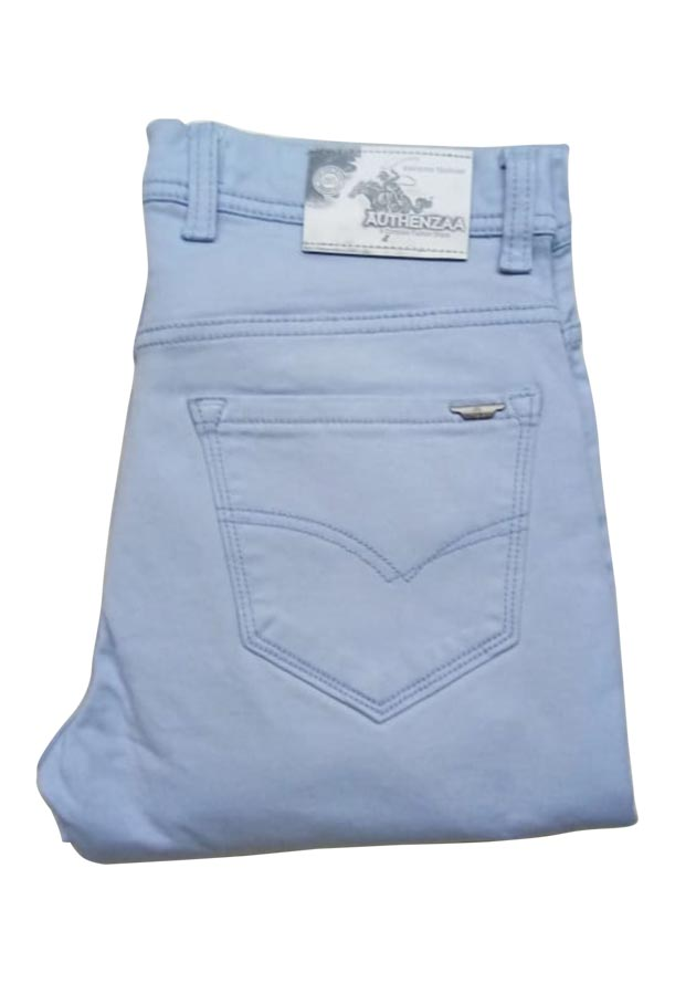 UTD D FANCY 01-SKY BLUE KNITTED DENIM