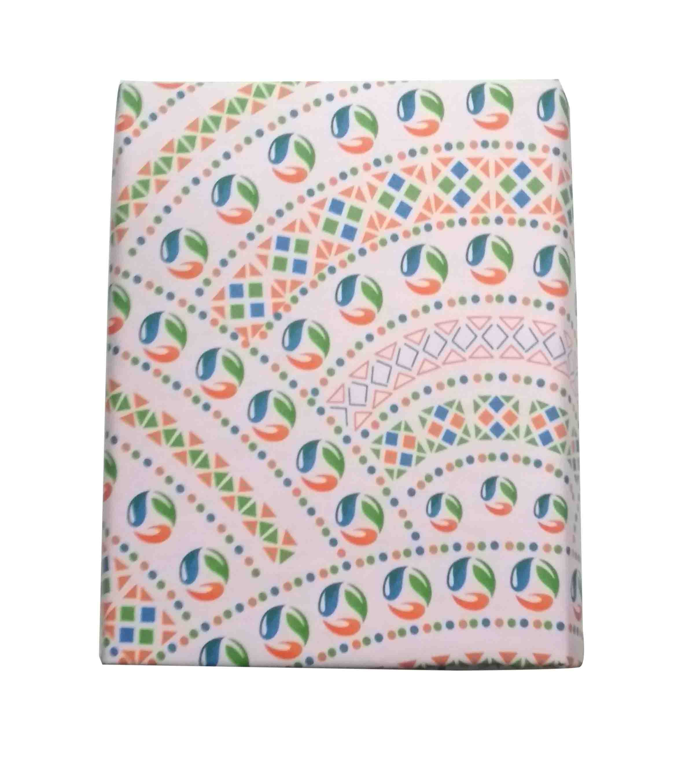 VIVID MAY 01-DESIGN 01 100 % COTTON DOUBLE BEDSHEET