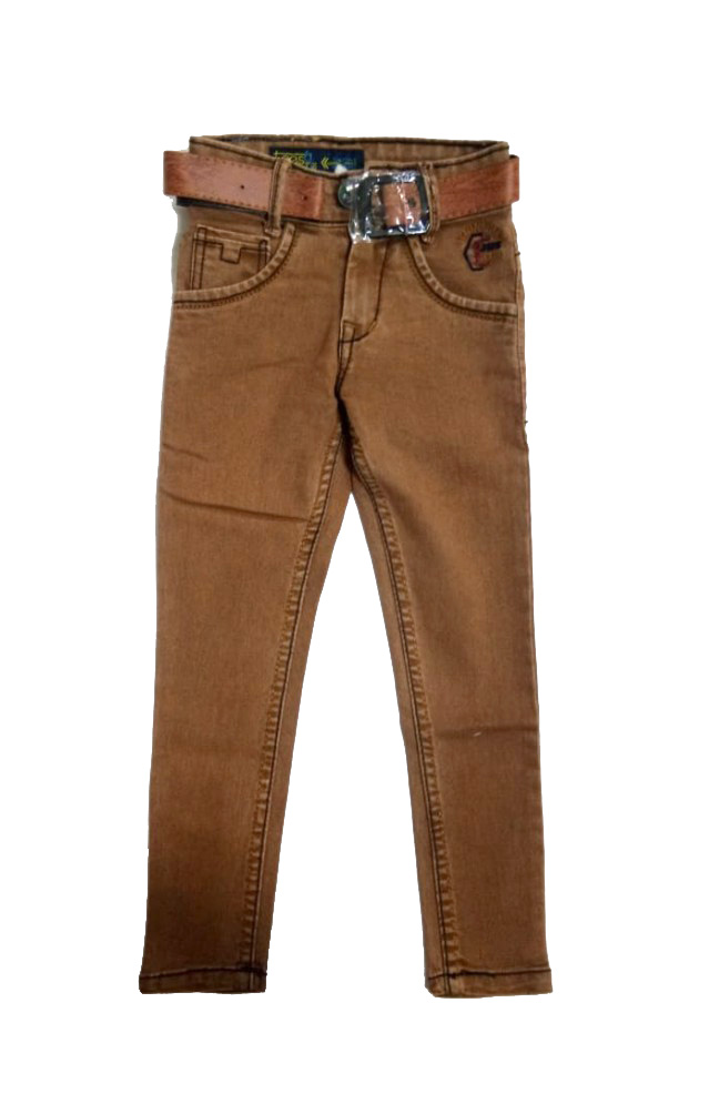 AVT DNO 205 SMALL -TAN-KIDS JEANS