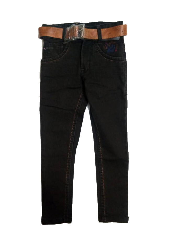 AVT DNO 205 BIG -COFFEE-KIDS JEANS
