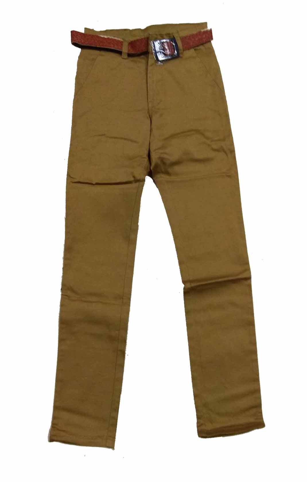 AVT D NO 2064 CORD BIG-BROWN-KIDS TROUSERS