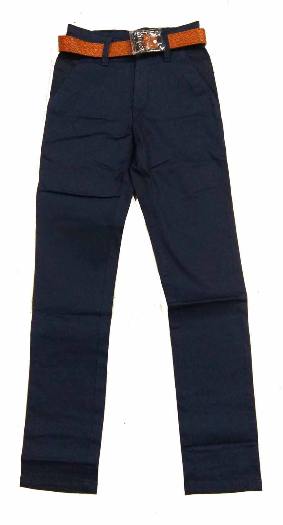 AVT D NO 2064 CORD BIG-BLUE-KIDS TROUSERS