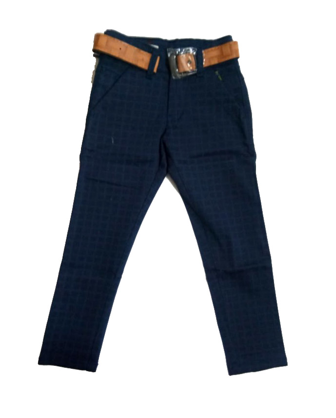 AVT D NO 2065 CHX BIG-NAVY-KIDS TROUSERS