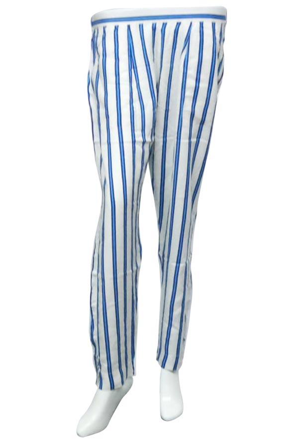 SOMAYA D NO 6-WHITE BLUE WMN PANT