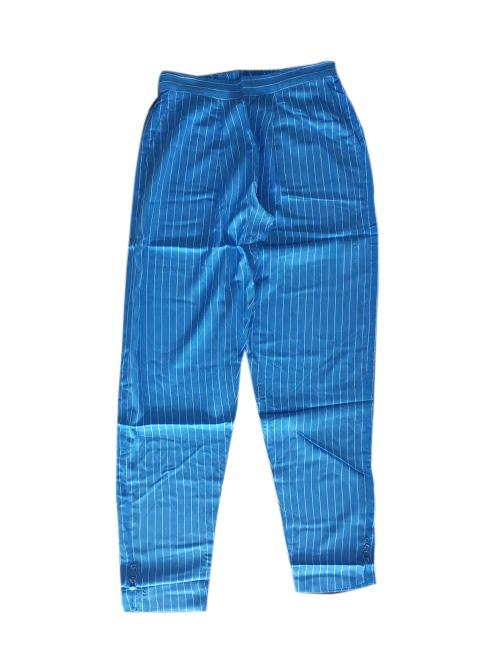 SOMAYA D NO 8-SKY BLUE LINE WMN PANT