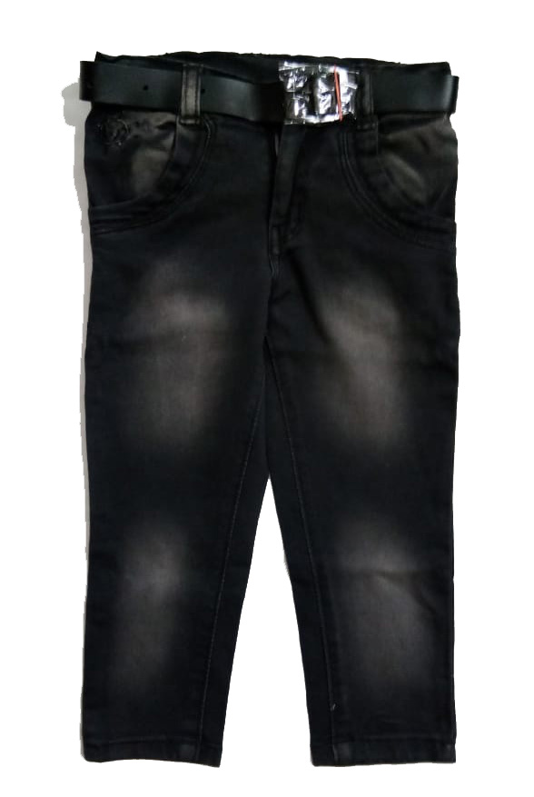 RI D NO 2395-BLACK-KIDS JEANS