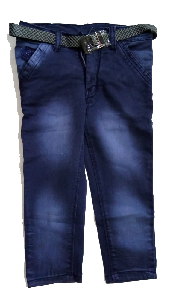RI D NO 2395-DENIM BLUE-KIDS JEANS