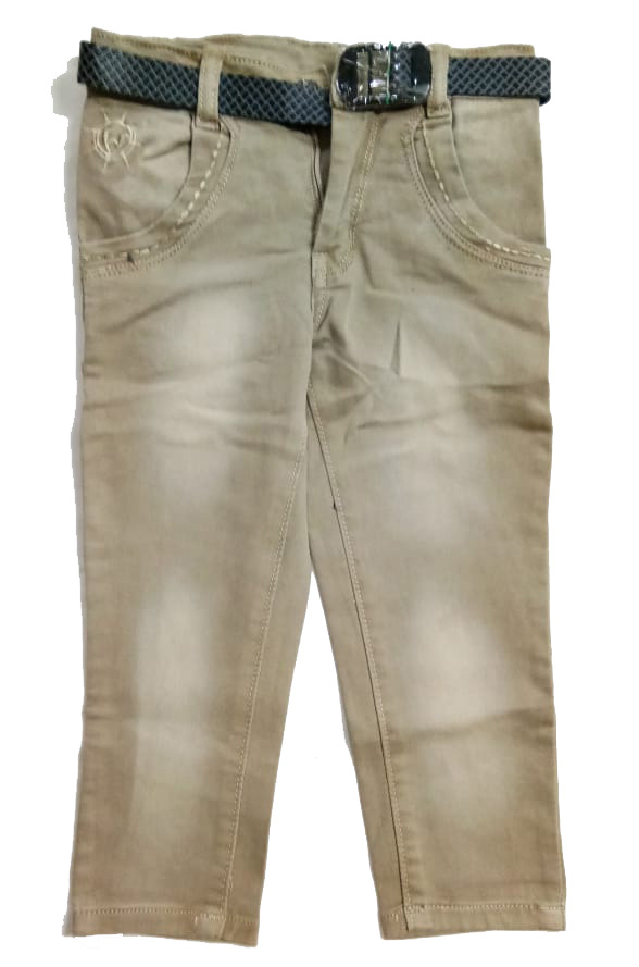 RI D NO 2396-CREAM-KIDS JEANS