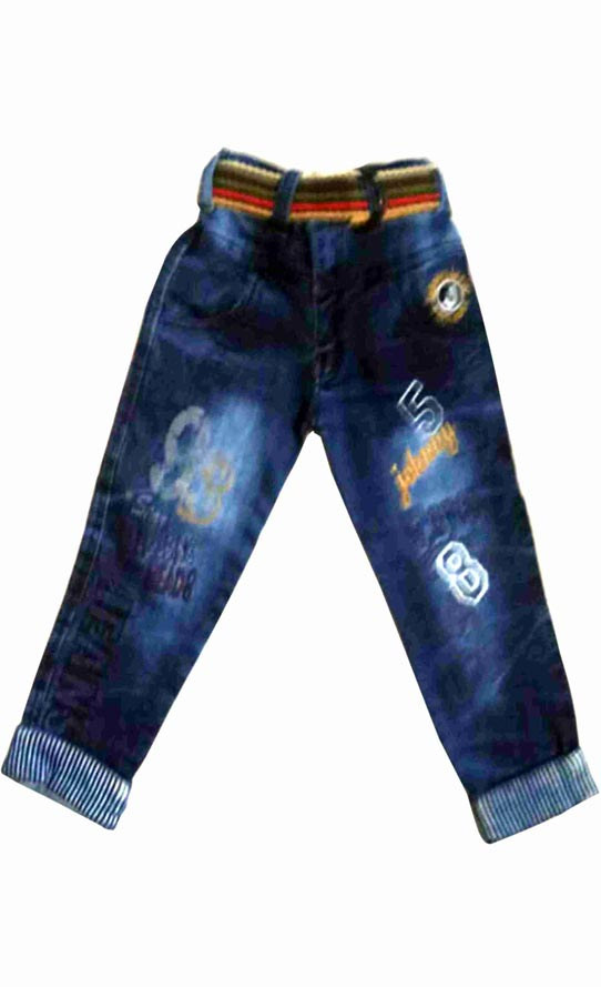 KJ DENIM 004-BLUE-KIDS DENIM JEANS