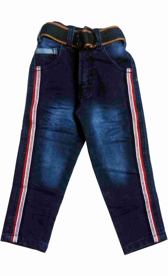 KJ DENIM 005-DARK BLUE-KIDS DENIM JEANS