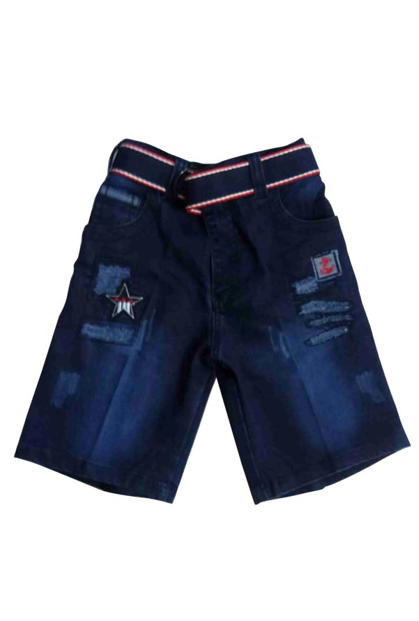 AE JUNE DENIM 01-BLUE-KIDS SHORTS & 3/4TH