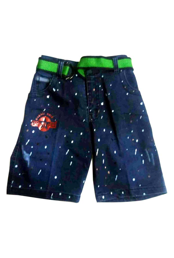AE JUNE DENIM 02-MID BLUE-KIDS SHORTS & 3/4TH